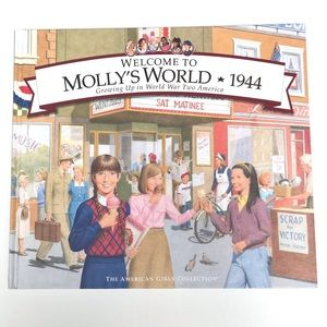American Girl Welcome To Molly's World Book